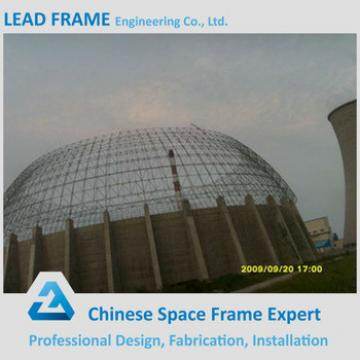 Steel Grid Structure Geodesic Dome Space Frame for Storage