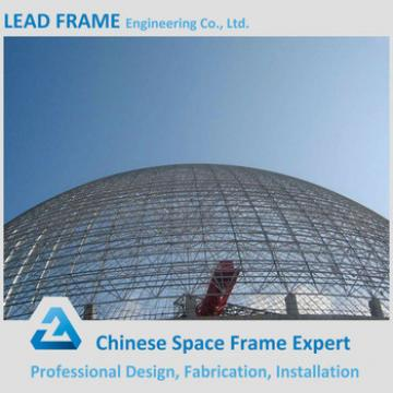 Steel Frame Dome Sheds For Coal Mining