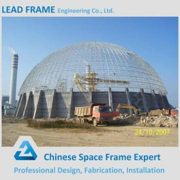 Light Steel Frame Limestone Dome Storage With Steel Structure Roof