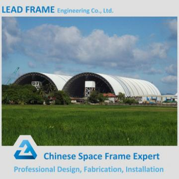 High Quality Steel Frame Limestone Storage Design for Metal Building