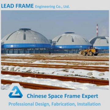 Large Diameter Steel Space Frame Roofing for Storage