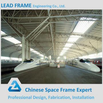 Galvanized Metal Roof Truss for Train Station Platform