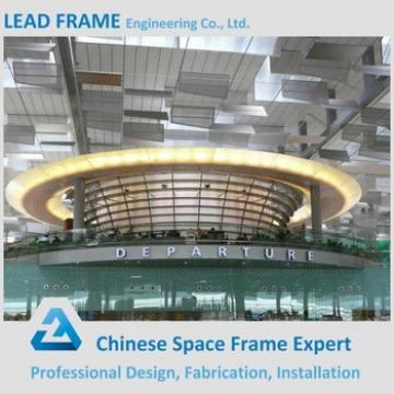 Precast Prefab Space Truss Steel Structure Airport Terminal
