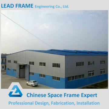 Arched Metal Pre fabricated Steel Structure for Industrial Building