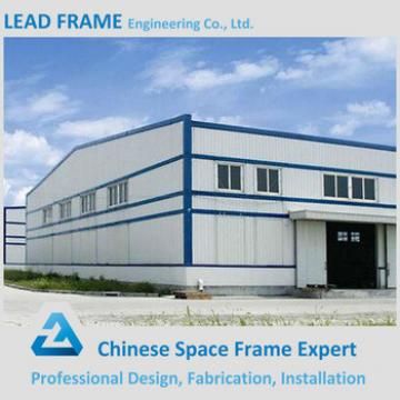 Galvanized prefabricated steel structure for factory