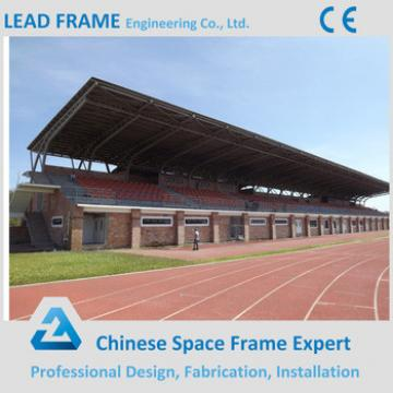 Light gauge steel space frame stadium