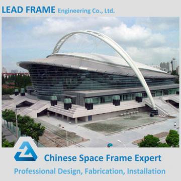 Light steel stadium roof material