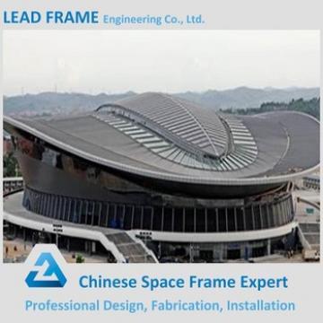 Lightweight steel stadium roof for school