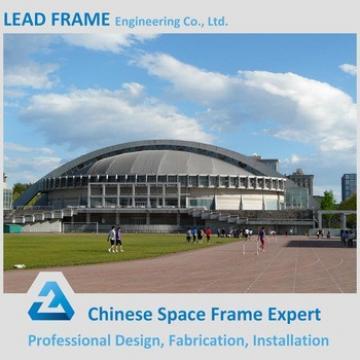 Galvanized steel space frame prefab stadium
