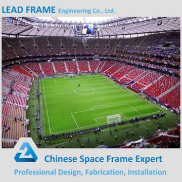 environmental long span prefab light steel indoor gym bleachers