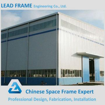 Antirust Light steel clear span steel building for industrial plant