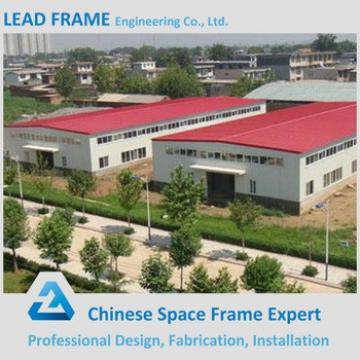 Prefabricated space frame steel structure workshop