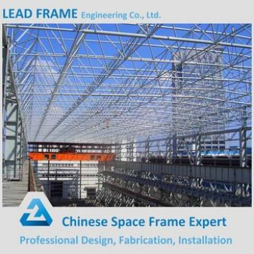 Steel Structural Steel Frame Workshop With Steel Frame Roofing