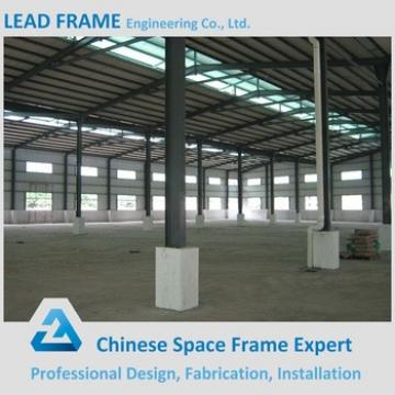 Large Span High Rise Q235 Q345 Steel Structure Building