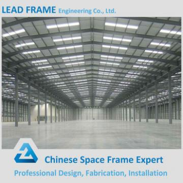 Curved Roof Construction Space Frame Structure Prefabricated Industrial Shed