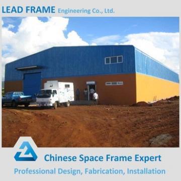 Steel frame godown for logistics park