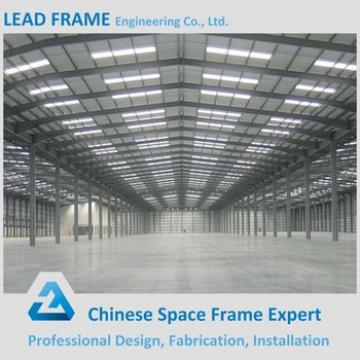 Lighting Framing Structure Industrial Prefabricated Factory Building