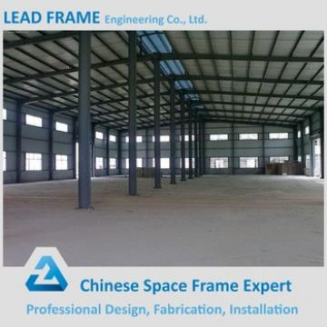 long span prefabricated steel structure factory building