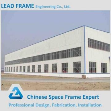Wide Span Design Steel Structure Workshop with CE Certificate