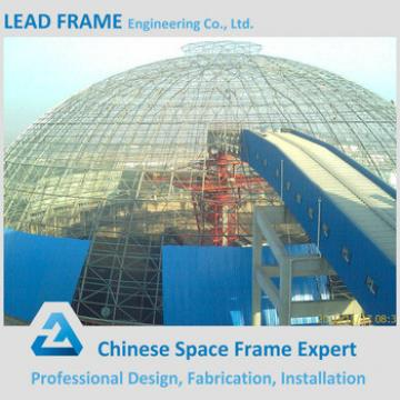 Easy Assembly Light Steel Space Frame Coal Roofing Shed