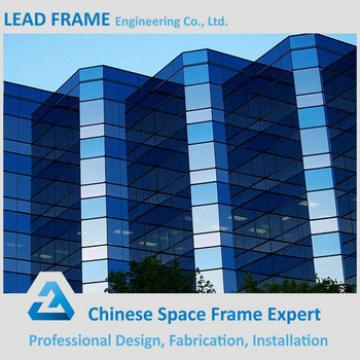 Modrate Price Space Steel Exterior Glass Wall Panels Glass Wall Prices