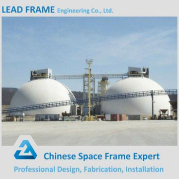 Light weight long span steel structrue space frame for coal power plant building