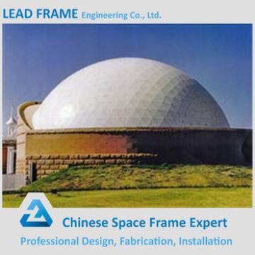 High Strength Lightweight Durable Barrel Type Space Frame Skylight Dome