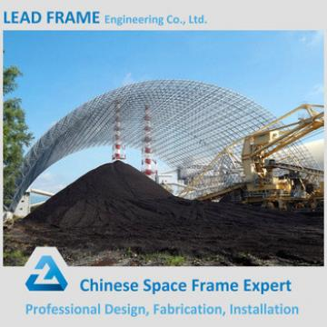 Hot Dip Steel Space Frame Structure Sorage Of Coal