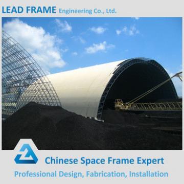 Prefab Space Frame Construction Metal Storage Shed