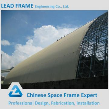 China supplier prefab steel space frame for storage