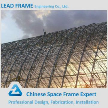 Light weight steel space frame ball for buildings