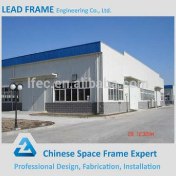 Certificated steel structure roof trusses warehouse