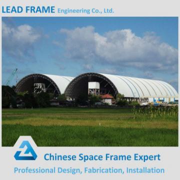 Longitudinal Light Steel Frame Structure Roofing for Coal Yard Storage Shed