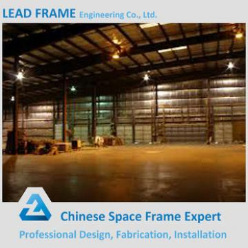 Light Gauge Prefabricated Metal Roof Trusses Steel Warehouse