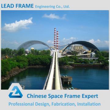 Anti-corrosion Steel Structure Space Frame Outdoor Canopy for Storing