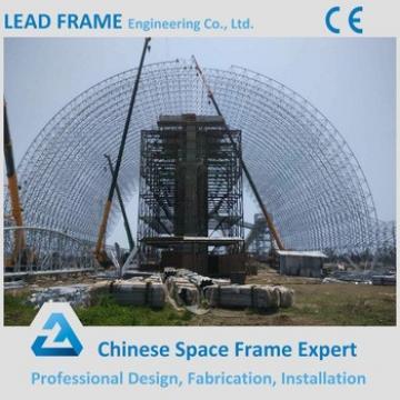 Light gauge steel space frame structures for building construction