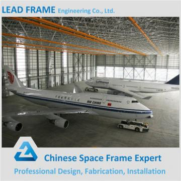 Prefabricated Steel Space Frame Structure Aircraft Hangar