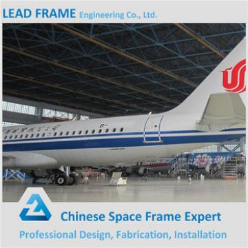 Prefab Customized Metal Frame Airplane Hangar For Sale