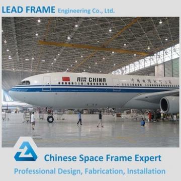 Galvanized Steel Space Frame Structure Airplane Hangar