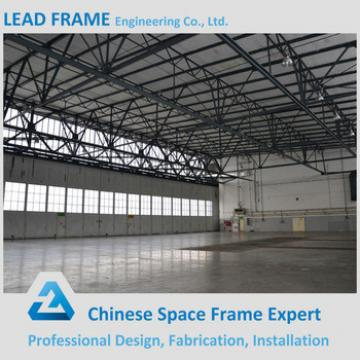 China supplier prefabricated standard steel arch hangar
