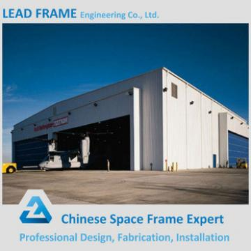 Long Span Best Price Steel Structure Hangar With Metal Truss