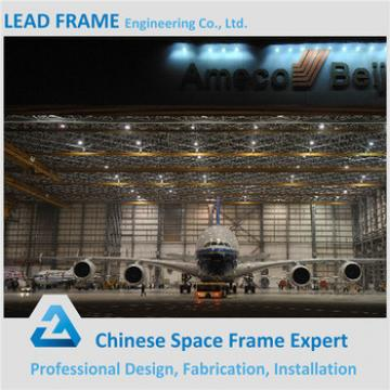 Fast Install Clear Span Structural Steel Frame Aircraft Hangar