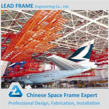 High Rise Arch Steel Space Frame Roof Aircraft Hangar