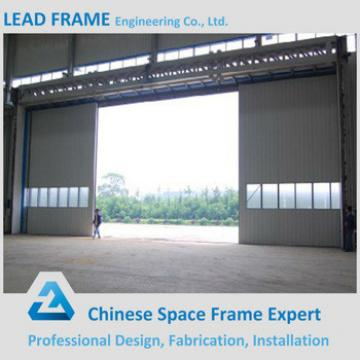 Wide Span Light Frame Steel Building Metal Hangar