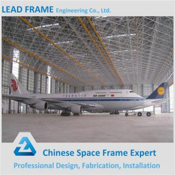 Prefab ISO9001 verified Steel Structure Quick Install Aircraft Hangar