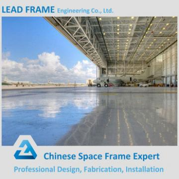 Light steel space frame arch hangar
