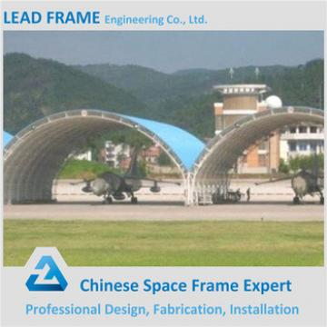 Large Pre Engineered Steel Structure Airplane Hangar For Sale