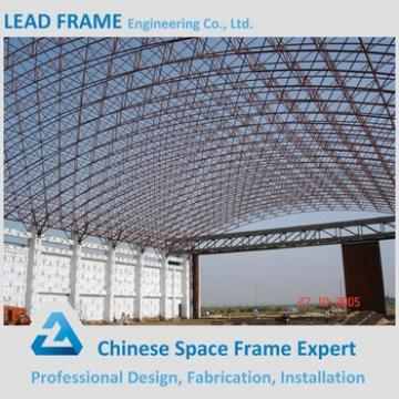 High Strength Wind-resistant Arch Hangar With Steel Panel Cover