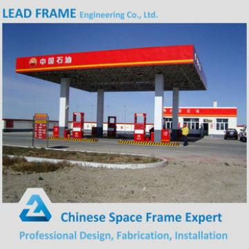 Customized light gauge steel structure gas station