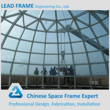 Transparent Daylighting Steel Structure Glass Igloos
